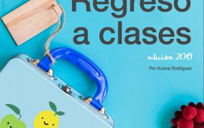 Recetario Regreso a clases 2019